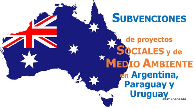 Australia financia organizaciones argentinas en desarrollo sostenible