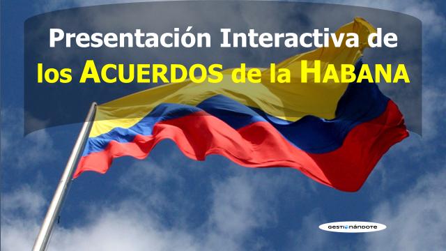 Presentación interactiva para entender los Acuerdos de Paz de la Habana