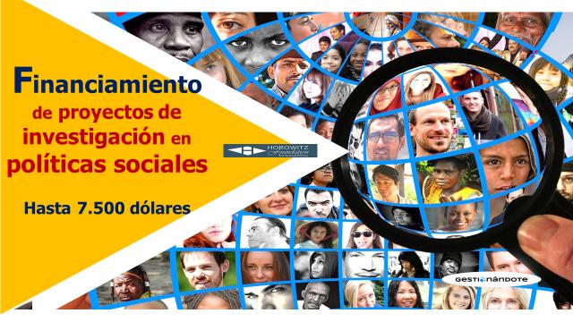 Financiamiento de investigación en políticas sociales – Fundación Horowitz