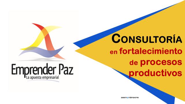 Contratación de consultoría en fortalecimiento de procesos productivos – UNIFORMAR