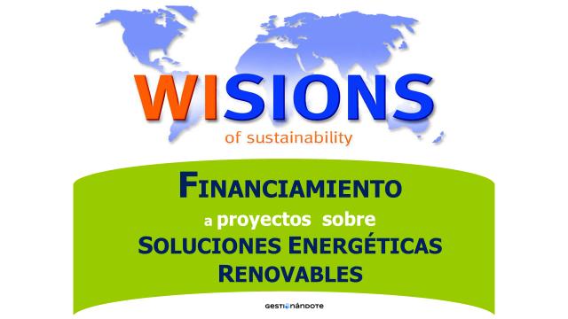 Apoyo financiero a proyectos sobre soluciones de energías renovables  – Wisions