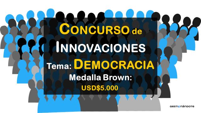 Concurso de innovaciones en materia de democracia