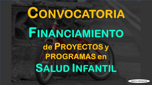 Subvenciones ICATCH para proyectos y programas en salud infantil
