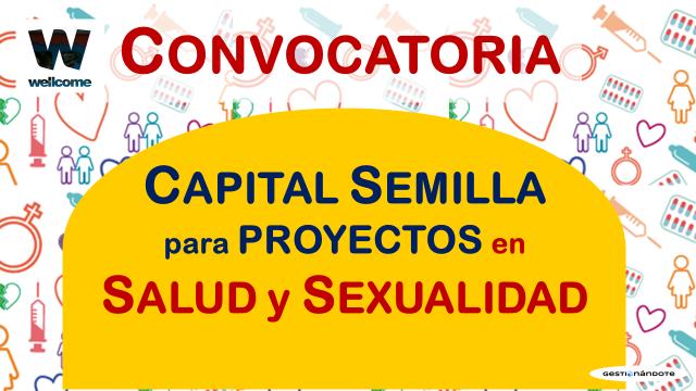 Wellcome entrega capital semilla a proyectos en salud y sexualidad