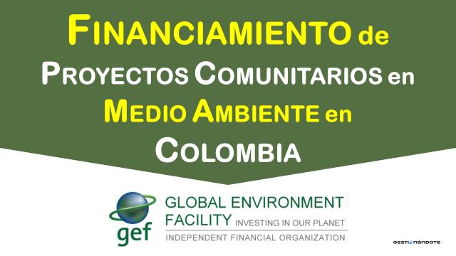 Financiamiento de proyectos comunitarios de medio ambiente – TICCA