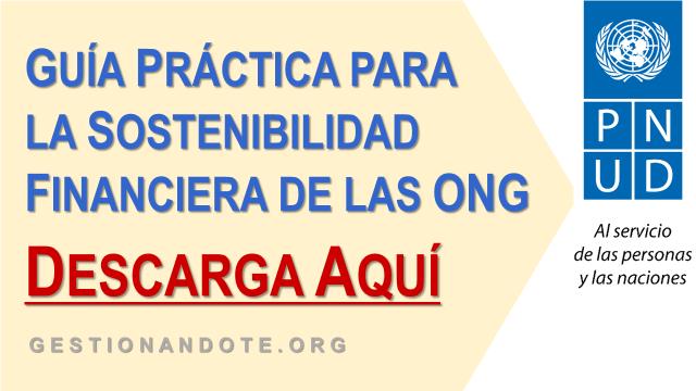 Guía práctica para la sostenibilidad financiera de las ONG