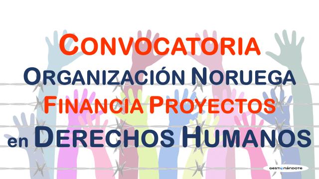 Subvenciones de fondo noruego para Derechos Humanos en Colombia
