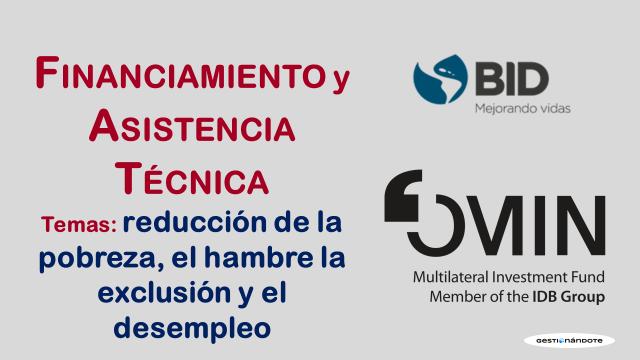 BID ofrece financiamiento y asistencia técnica a proyectos sociales – PES