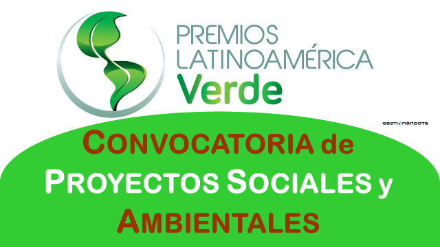 Convocatoria para proyectos sociales y ambientales