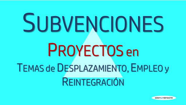 Tent Foundation financia proyectos para la integración social y el empleo de desplazados/as