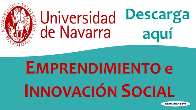 Descarga esta publicación sobre Emprendimiento Social