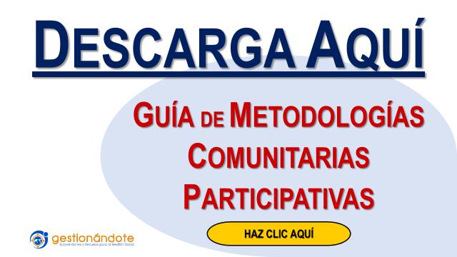 Guía de Metodologías Comunitarias Participativas