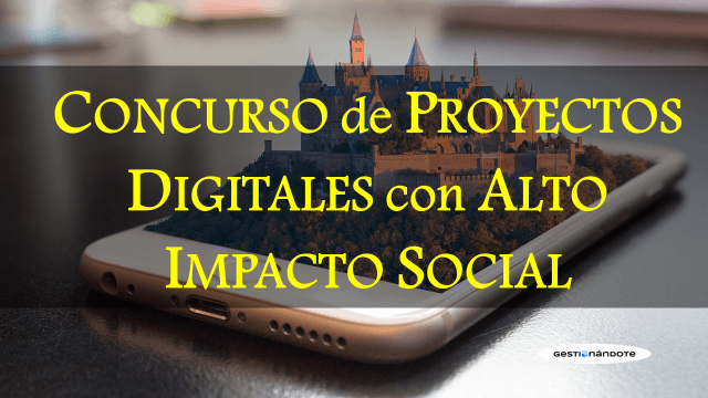 Concurso de iniciativas digitales con impacto social WSA