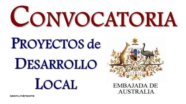 Embajada de Australia en Colombia y Ecuador financia proyectos de desarrollo local