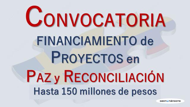 Embajada de Suecia y Reconciliación Colombia lanzan convocatoria para financiar proyectos innovadores