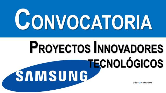 Samsung lanza concurso de ideas tecnológicas innovadoras