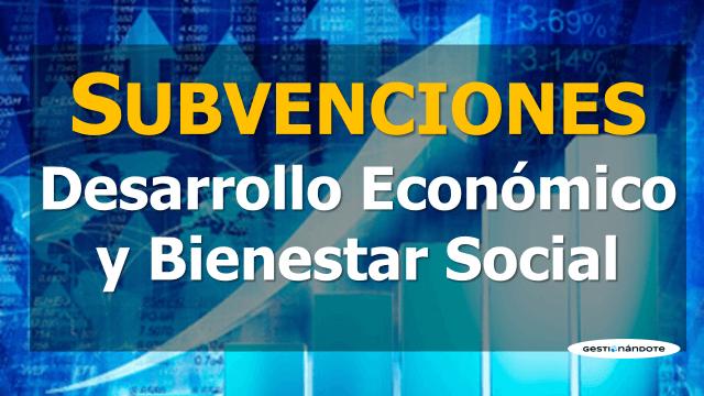 Subvenciones para el desarrollo económico y bienestar social en Colombia