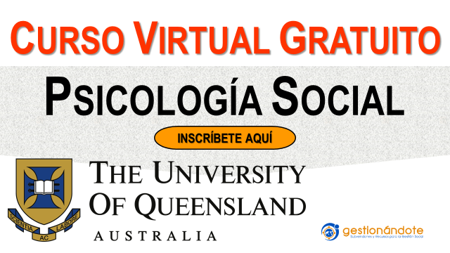 Curso virtual gratuito en Psicología Social de la Universidad de Queensland