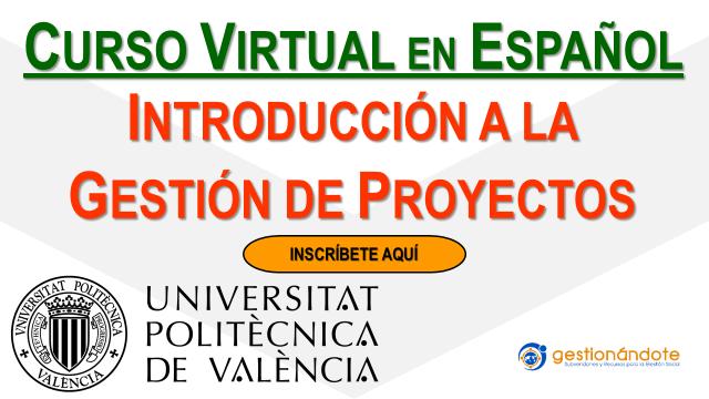 Curso en Gestión de Proyectos de la Universidad de Valencia