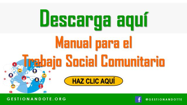 Manual para el Trabajo Social Comunitario – Free