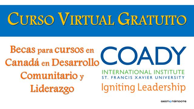 Becas para cursos en Canadá en desarrollo comunitario y formación en liderazgo