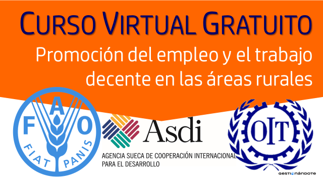 Curso virtual de la FAO sobre la promoción del empleo productivo y el trabajo en el sector rural