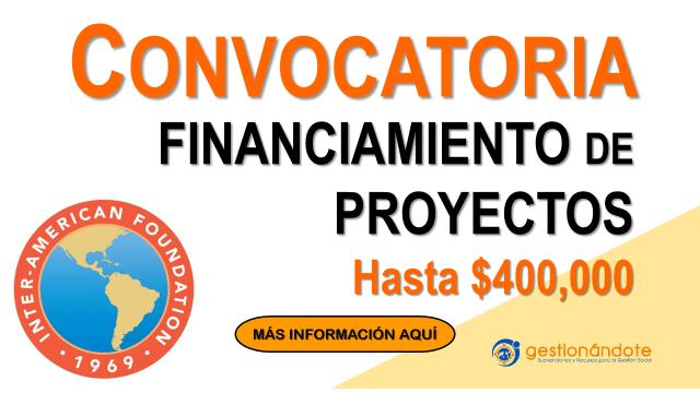 Donaciones para desarrollo comunitario – Fundación Interamericana
