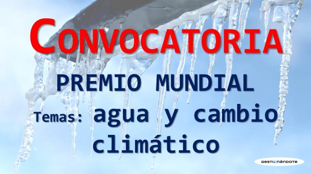 Concurso internacional en temas de agua y cambio climático – Rey Hassan
