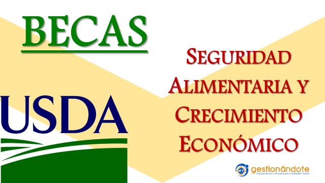 Becas Borlaug en seguridad alimentaria y economía