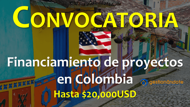Subvenciones de la Embajada de EE.UU. en Colombia
