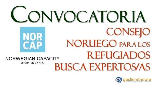 Convocatoria del Consejo Noruego de Refugiados para expertos/as