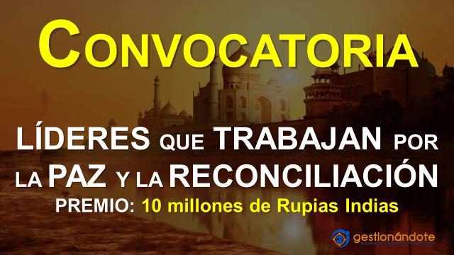 Convocatoria para líderes de paz y la reconciliación