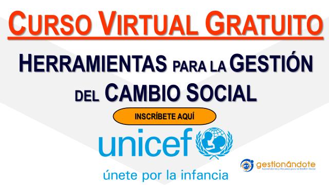 ¿Cómo generar cambio social de alto impacto? Curso de UNICEF