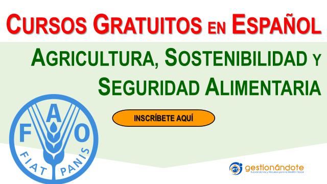 Cursos certificados de  la FAO, Naciones Unidas