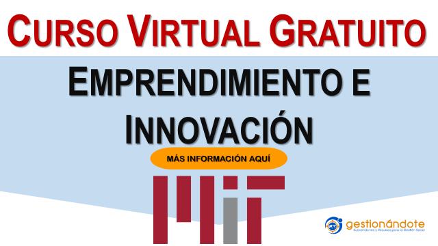 Curso MIT en innovación y emprendimiento