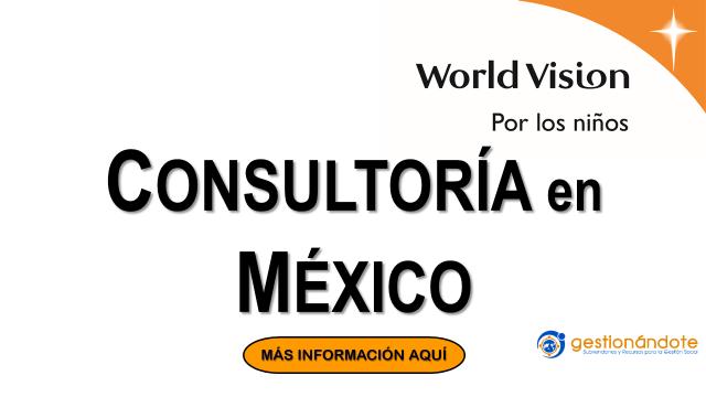 World Vision contrata consultoría para levantamiento de información en México
