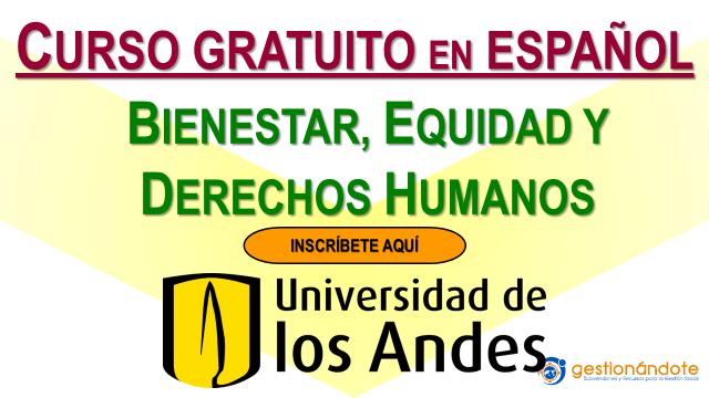 Curso Certificado de la Universidad de los Andes en Derechos Humanos