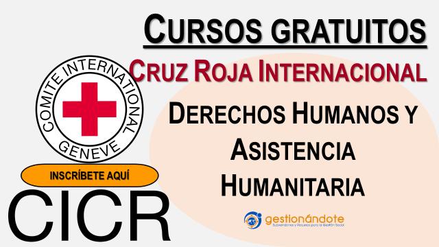 Derechos humanos y asistencia humanitaria:  cursos en la Cruz Roja