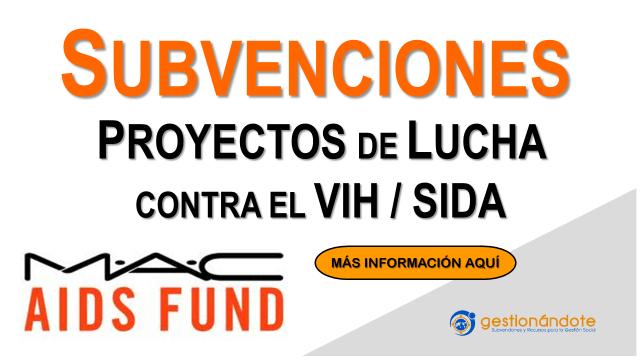 El Fondo MAC financia proyectos que luchan contra el VIH/SIDA