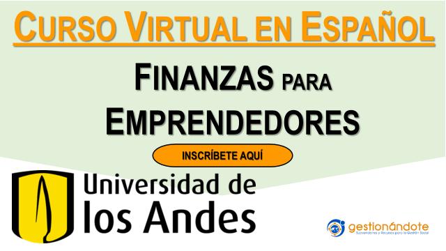 Curso gratuito en español: Finanzas para emprendedores