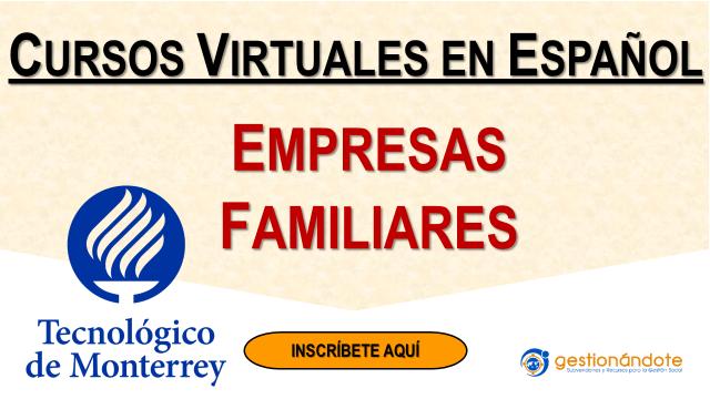 Programa en Empresas familiares – Tecnológico de Monterrey