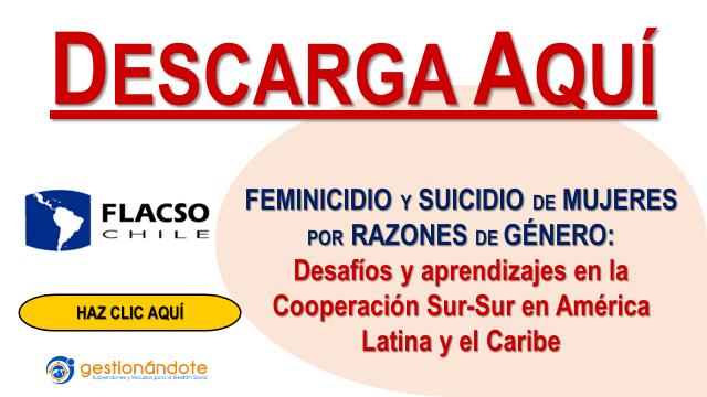 Descarga libro: feminicidio, género y cooperación en América Latina