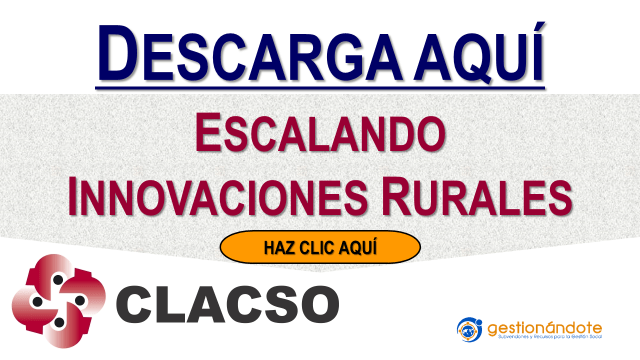 CLACSO publica libro sobre el escalamiento de las innovaciones rurales