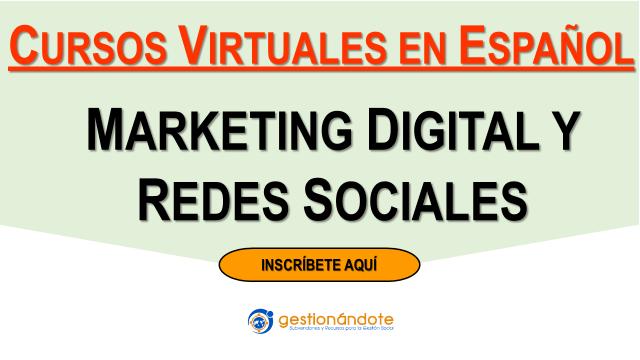 Cursos gratuitos en marketing digital y redes sociales para ONG