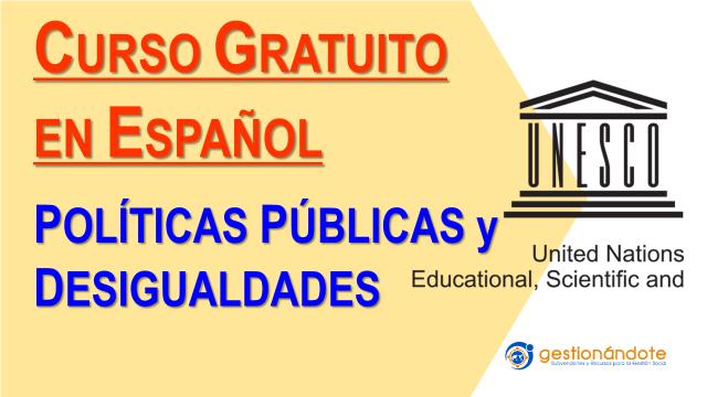 Políticas públicas y desigualdades: curso certificado por UNESCO