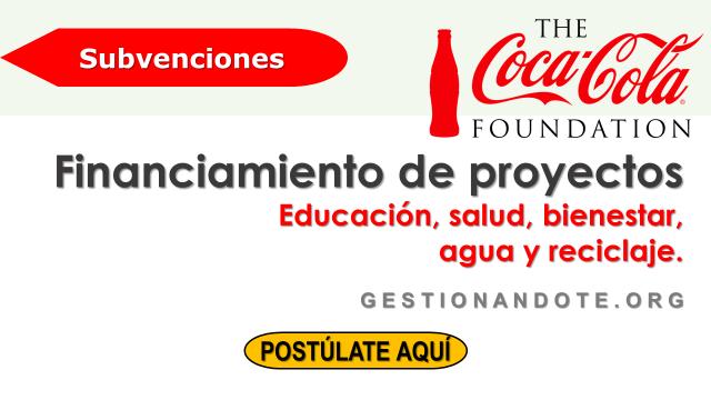 Subvenciones de Coca-Cola Foundation