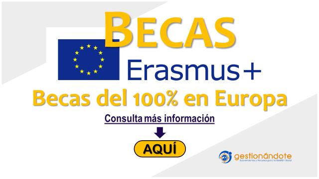 Erasmus – Becas completas de la Unión Europea para  maestría