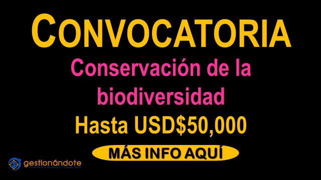 Subvenciones de National Geographic para conservación de la biodiversidad