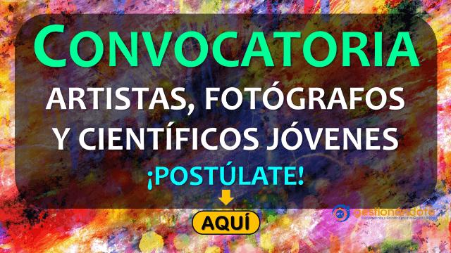 Convocatoria internacional para artistas, fotógrafos y científicos jóvenes
