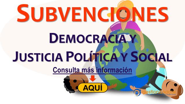 Capital semilla – proyectos por la democracia y la justicia política y social